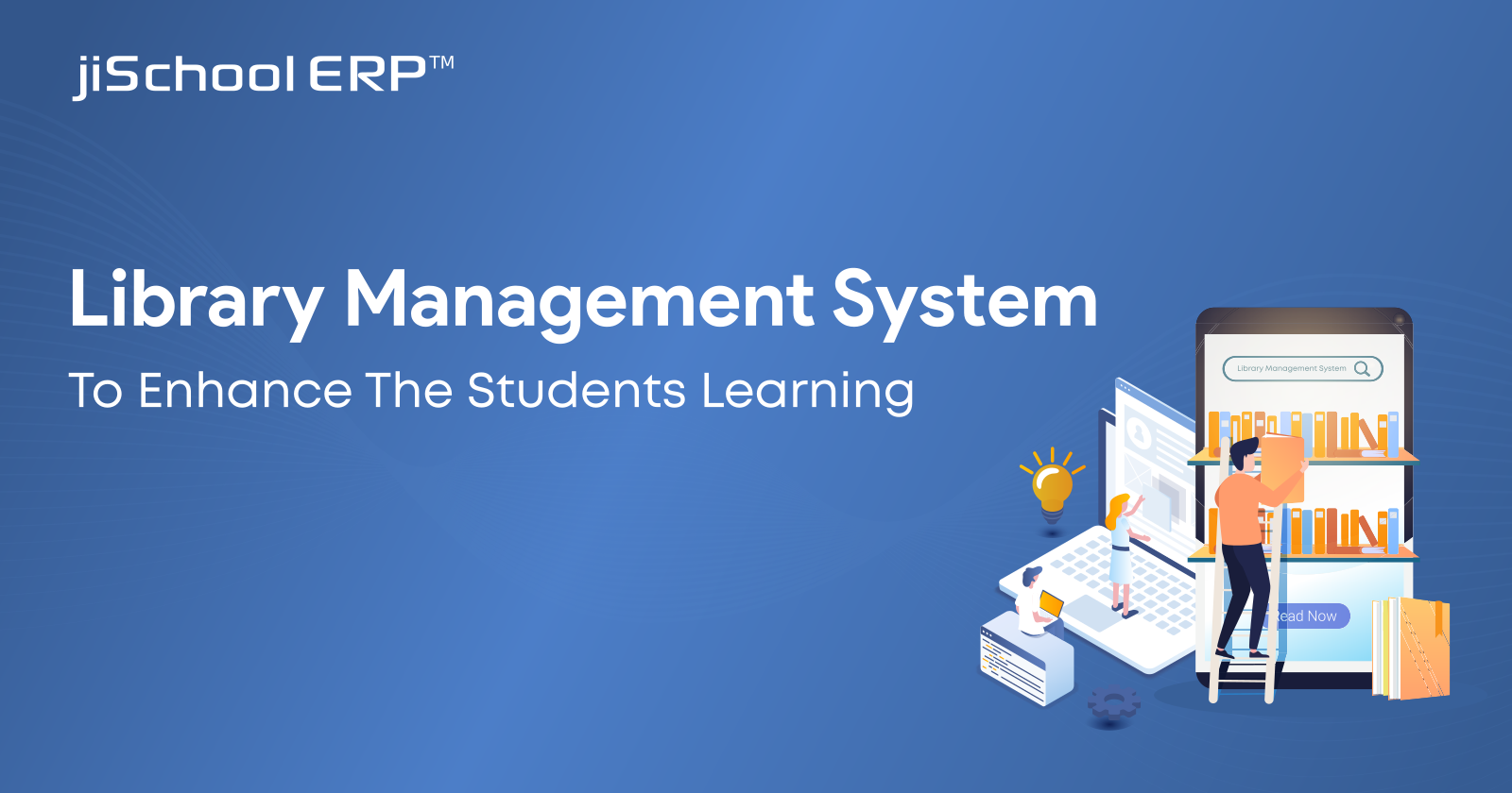 How does the Library Management System help to enhance Students Learning Expereince?