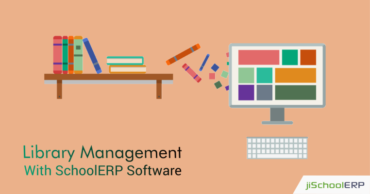 Managing The Library Operations Effectively With SchoolERP Software
