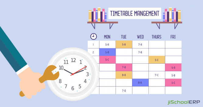 Manage your School Timetables the Right Way!