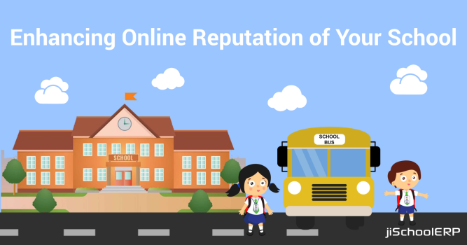Enhance Online Reputation Using School Management Software