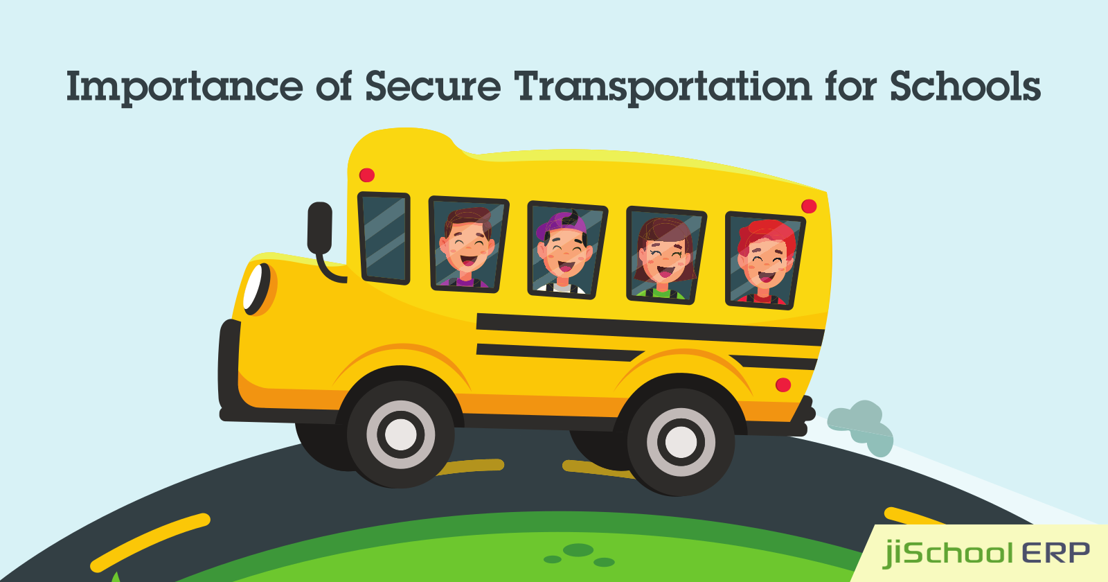 How School ERP Offers a Secure Transportation System