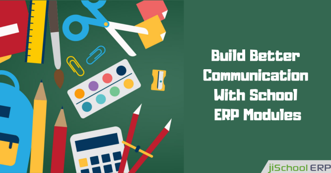 Interact Smartly With School ERP Modules