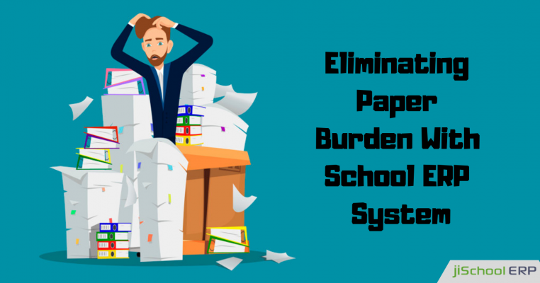 How School ERP modules Eliminate Paper Grading Burden