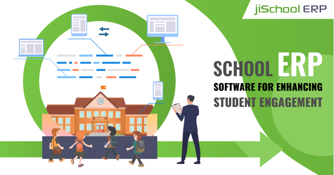 Role of School Management Software in Increasing Student Engagement