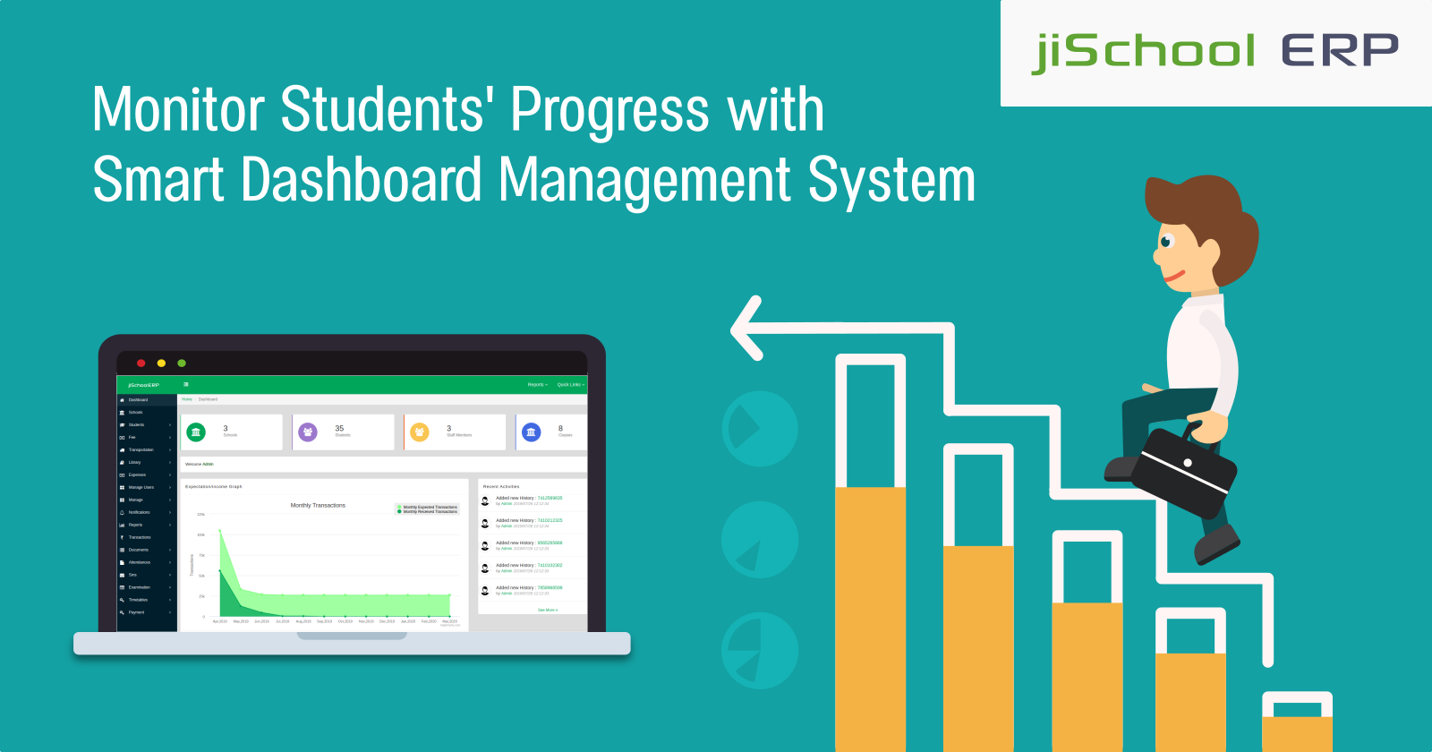 Monitor Students' Progress with Smart Dashboard Management System