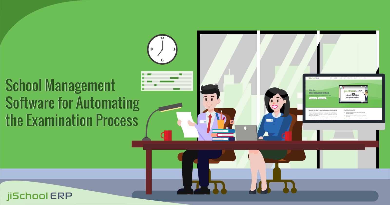 School Management Software for Automating the Examination Process