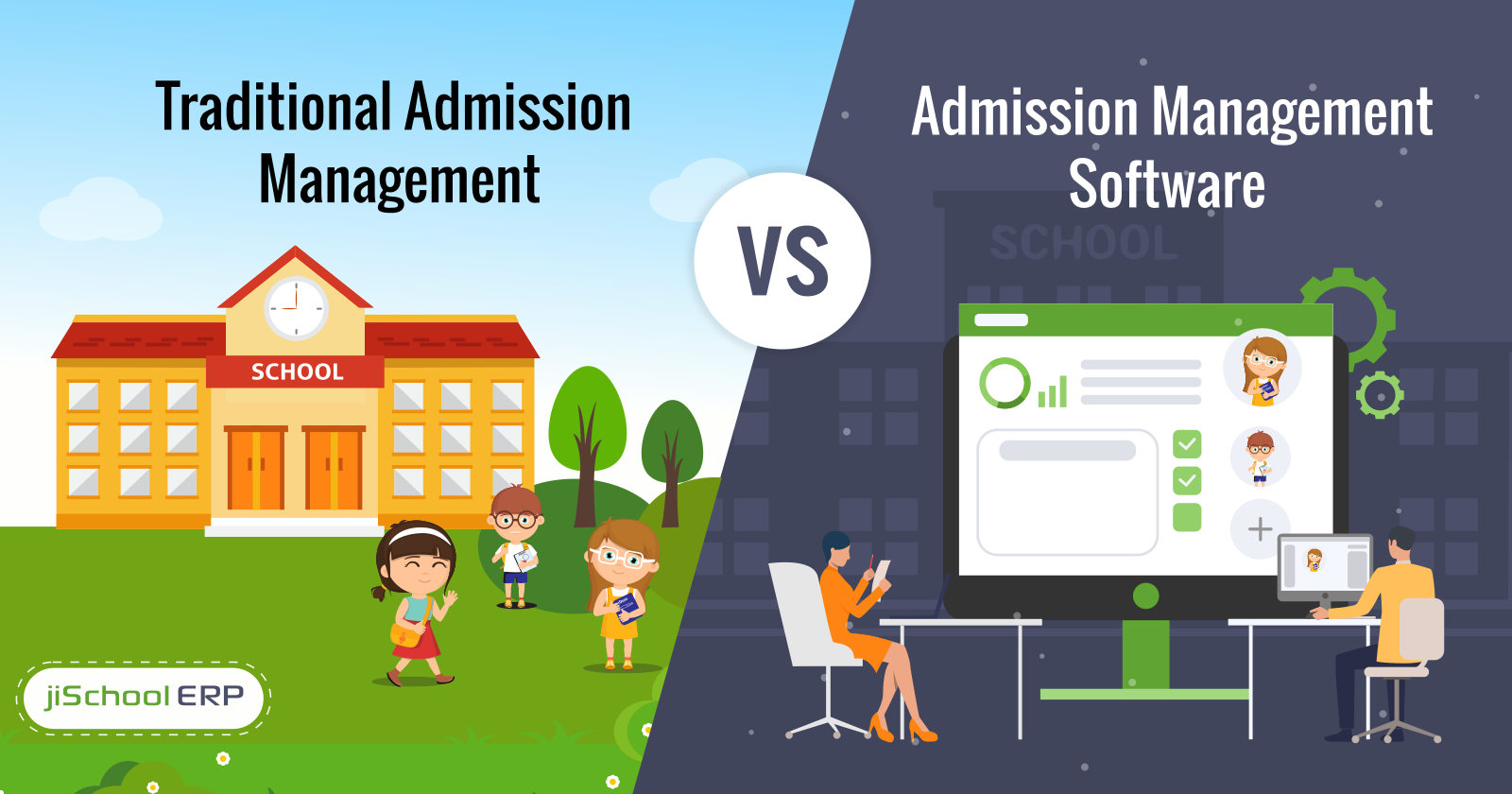 Traditional Admission Management Versus the Admission Management Software